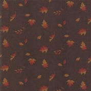 Moda - Country Charm by Holly Taylor - 7060 - Small Leaf on Barnwood - 6793 17 - Cotton Fabric